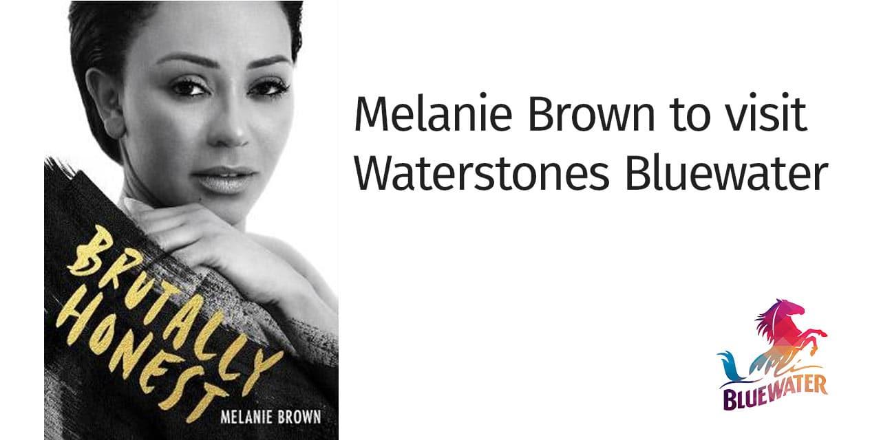 Melanie Brown to visit Waterstones Bluewater