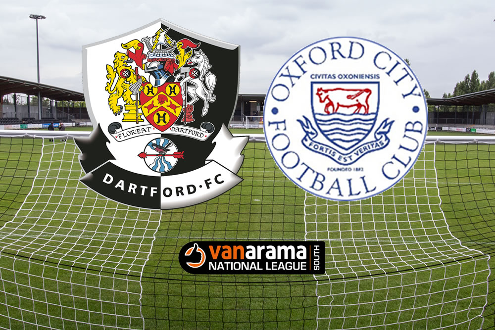 Dartford v Oxford City Match Report