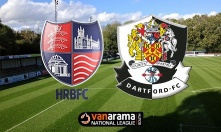 Report: Hampton & Richmond Borough 0-1 Dartford – Purple patch continues for Darts
