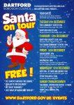 Santa Tour Poster