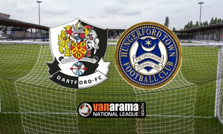 Report: Dartford 2-1 Hungerford Town – Darts back to winning ways