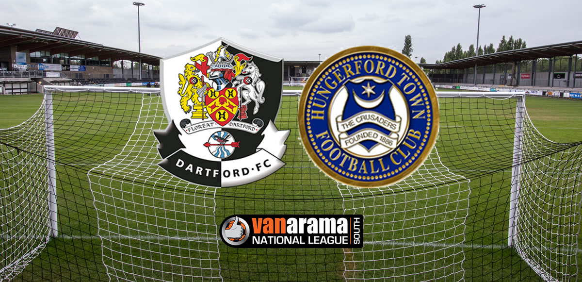 Report: Dartford 2-1 Hungerford Town – Darts back to winning ways