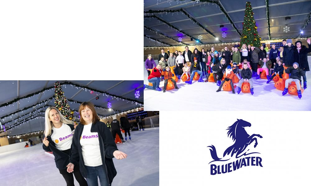 Bluewater invites charity We Are Beams to enjoy a magical festive skate