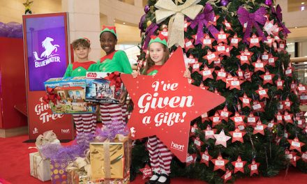 Bluewater's Giving Tree delivered over 17,000 gifts to children this Christmas