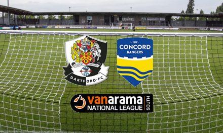 Dartford v Concord Rangers – Match report