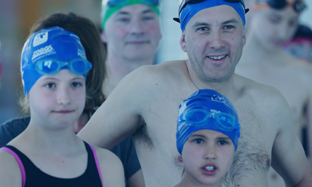 Olympians encourage Kent swimmers to make a splash for charity