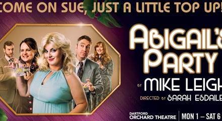 JODIE PRENGER WILL STAR IN MIKE LEIGH'S ACCLAIMED COMEDY ABIGAIL'S PARTY AT THE ORCHARD THEATRE