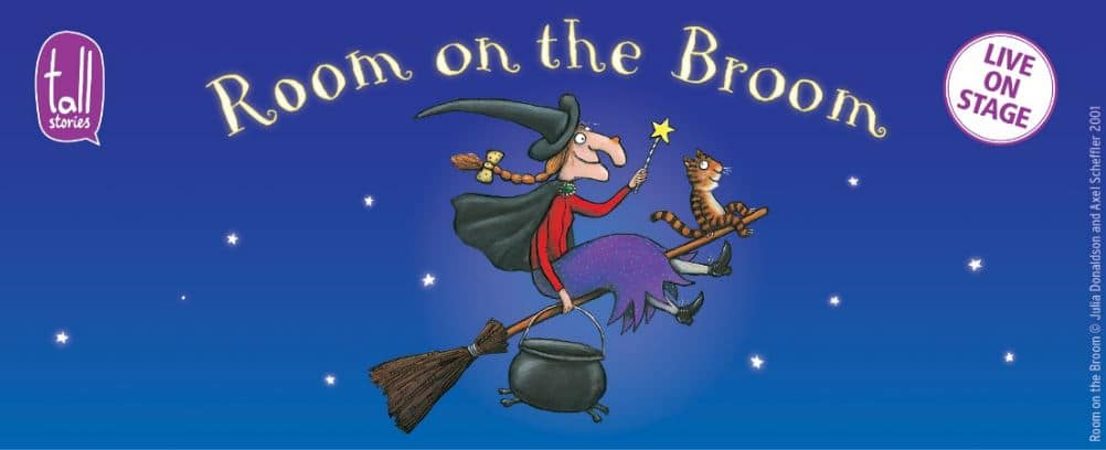 ROOM ON THE BROOM WILL BE FLYING OVER TO THE ORCHARD THEATRE THIS MARCH!