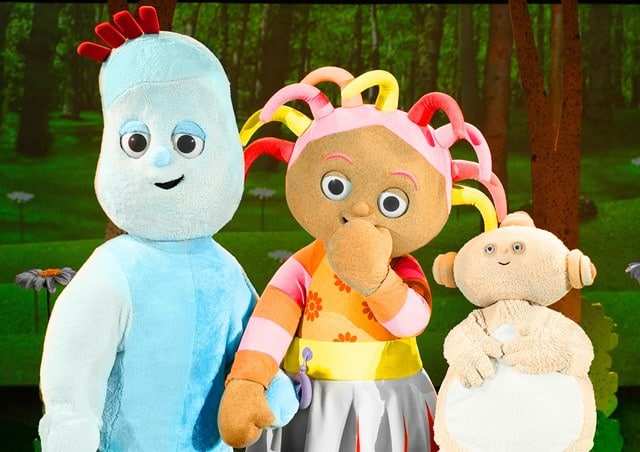 In The Night Garden will be arriving at The Orchard Theatre soon, will it be getting here by the Ninky-Nonk or the Pinky-Ponk?