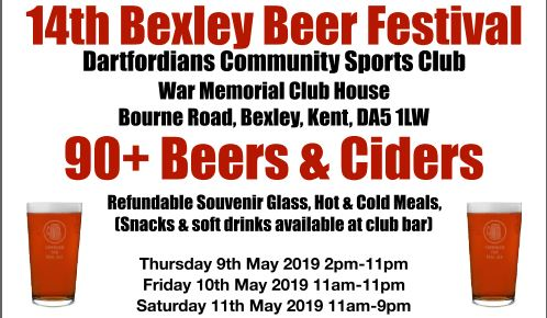 Regional Beer Fest returns for its 14th year! 9th-11th May 2019