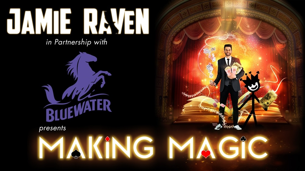 Jamie Raven opens magic theatre and workshop at Bluewater!