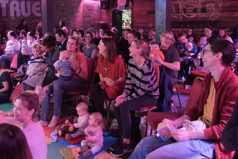 The Orchard Theatre: BRING YOUR OWN BABY – AFTERNOON COMEDY CLUB Comedians announced for MON 10 JUNE