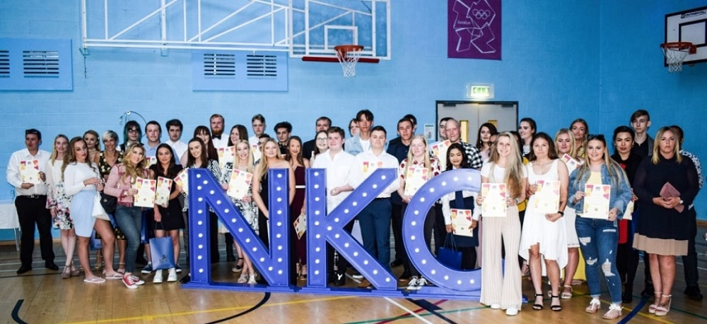Lights shine bright on the North Kent College FE awards