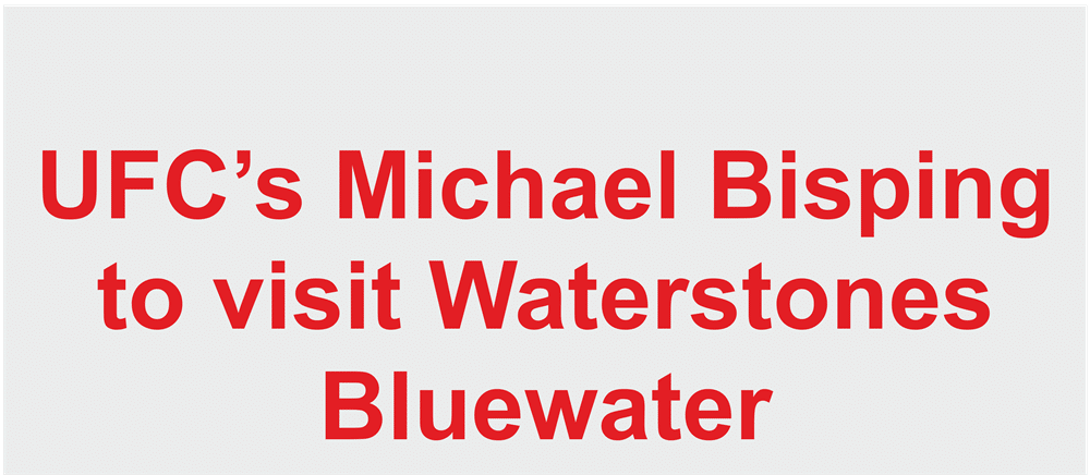 Michael Bisping to visit Waterstones Bluewater