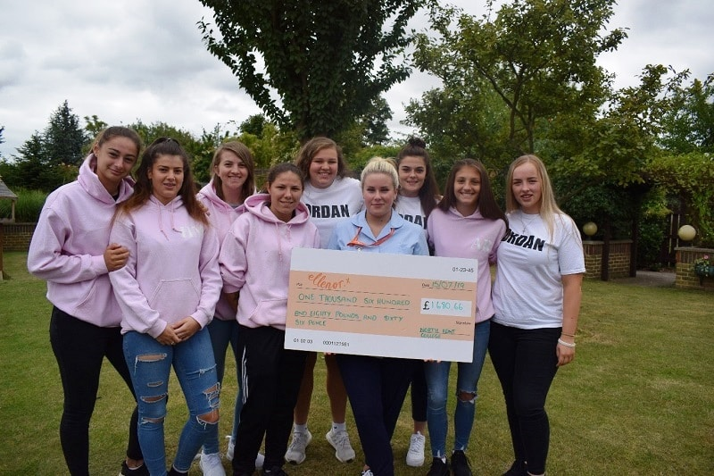 Support for local charity, Ellenor, is gratefully received