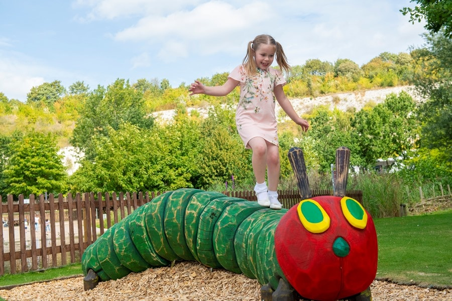 Bluewater's Nature Trail welcomes The Very Hungry Caterpillar