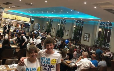 Funds Raised for Jeans for Genes at Efes Turkish Feeding Frenzy