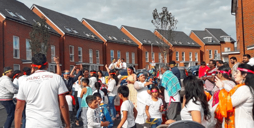 Phoenix Quarters Residents community based in Dartford celebrated 'Ganesh Chaturthi' Indian festival.
