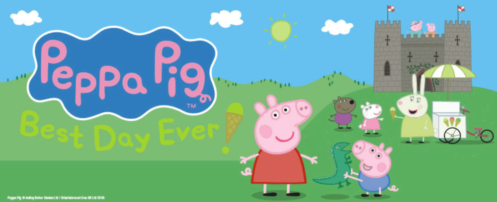 JOIN PEPPA & FRIENDS  FOR THEIR PERFECT DAY OUT AT THE ORCHARD THEATRE!
