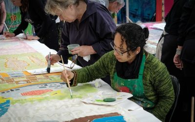 'Valley of Vision'  Help uncover the stories of the Darent Valley, working with artists from international arts company, Kinetika