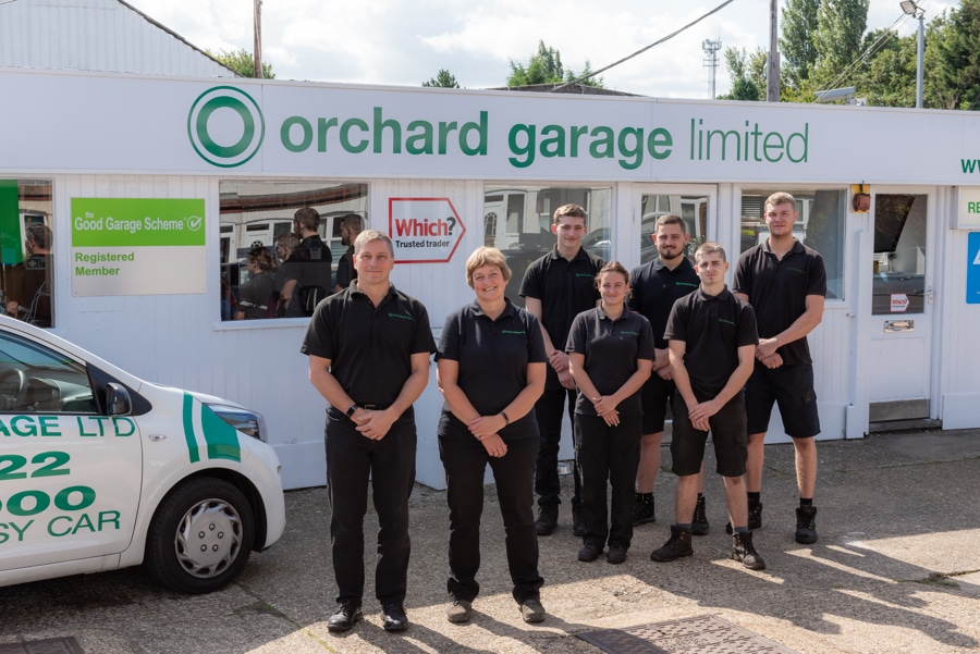 Orchard Garage's family business is complete with fifth member in post