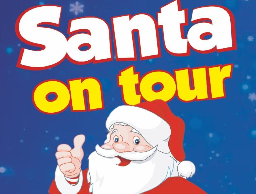 Santa is coming to Dartford on his 2019 Christmas Tour!