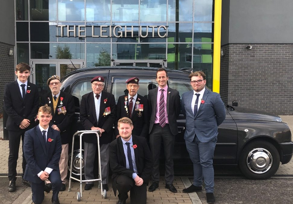 WWII Veterans Meet Dartford School Children