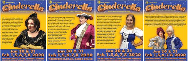 DAODS presents: A Cinderella Pantomime!