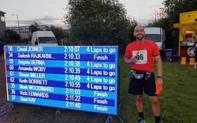Marathon Training at Christmas for Mark Woodward