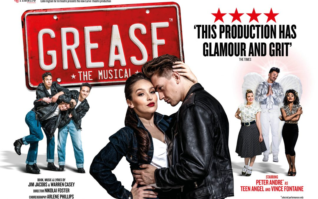 GREASE The Musical. Casting Announcement PETER ANDRE as Teen Angel and Vince Fontaine!