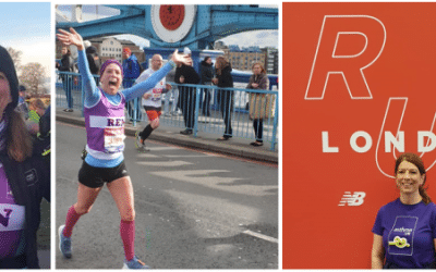CRAYFORD SUFFERER'S MARATHON MISSION IN AID OF ASTHMA UK