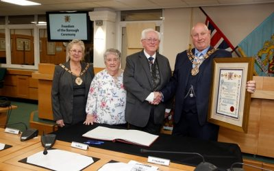 Honorary Freedom of the Borough awarded to Pat Coleman