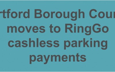 Dartford Borough Council moves to RingGo cashless parking payments