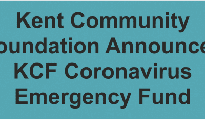 Kent Community Foundation Announces KCF Coronavirus Emergency Fund