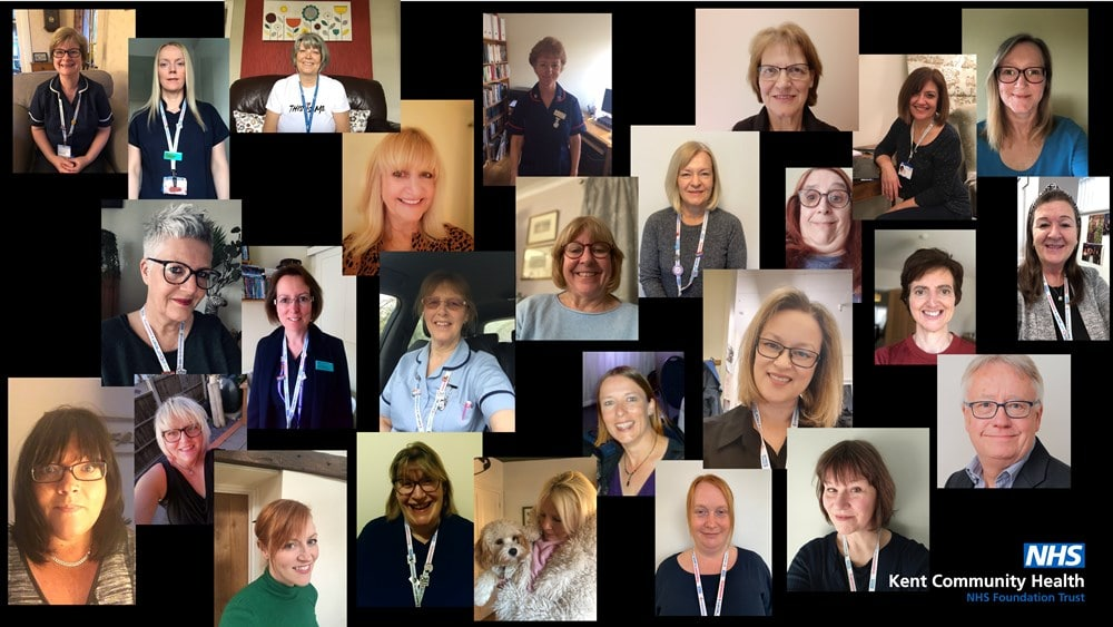 Kent NHS choir raises the roof with 'Stay at home' and racks up 54,000 views on social media