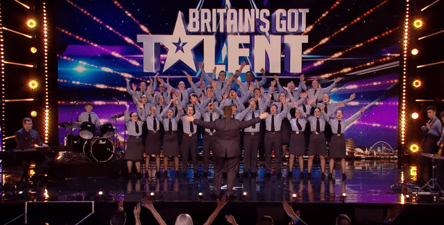 North Kent College and RAF Choir hit the heights on Britain's Got Talent!