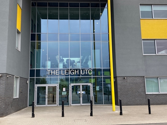 Opening The Leigh UTC for years 10 and 12