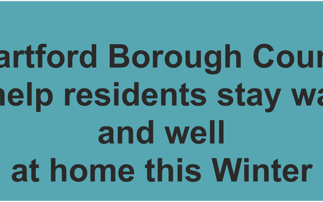 Residents living in the Dartford Borough can now benefit from grant-funded gas central heating to help keep them warm and well this winter