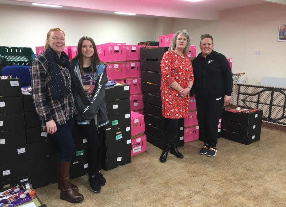 YMCA DELIVERS HAMPERS AND GIFTS TO THOSE IN NEED FOR CHRISTMAS