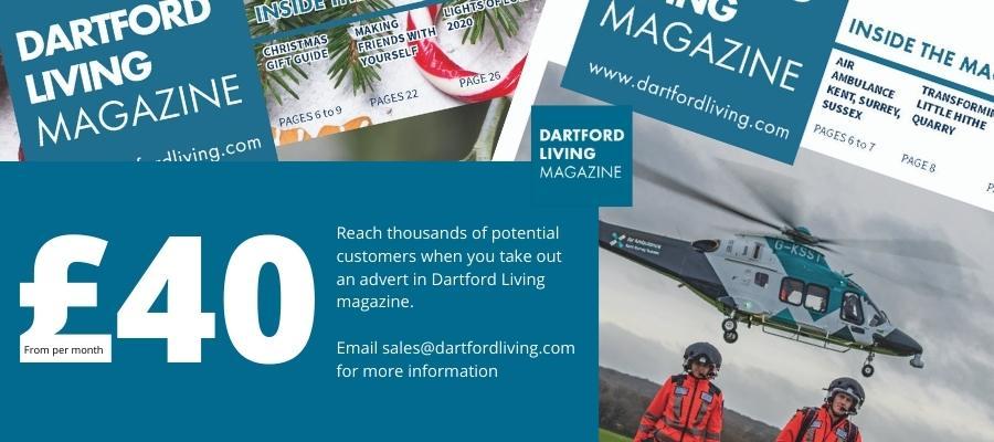 Advertise in Dartford Living