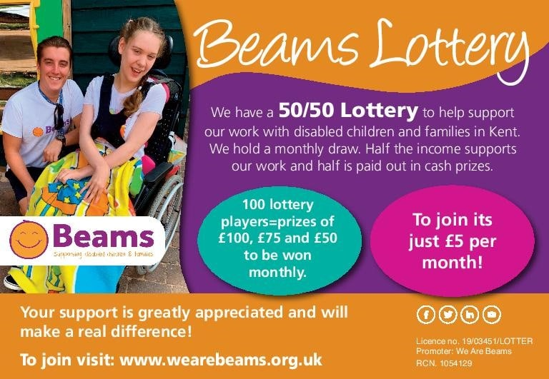 Would you like to support a local children's charity and be in with a chance to win a monthly cash prize?