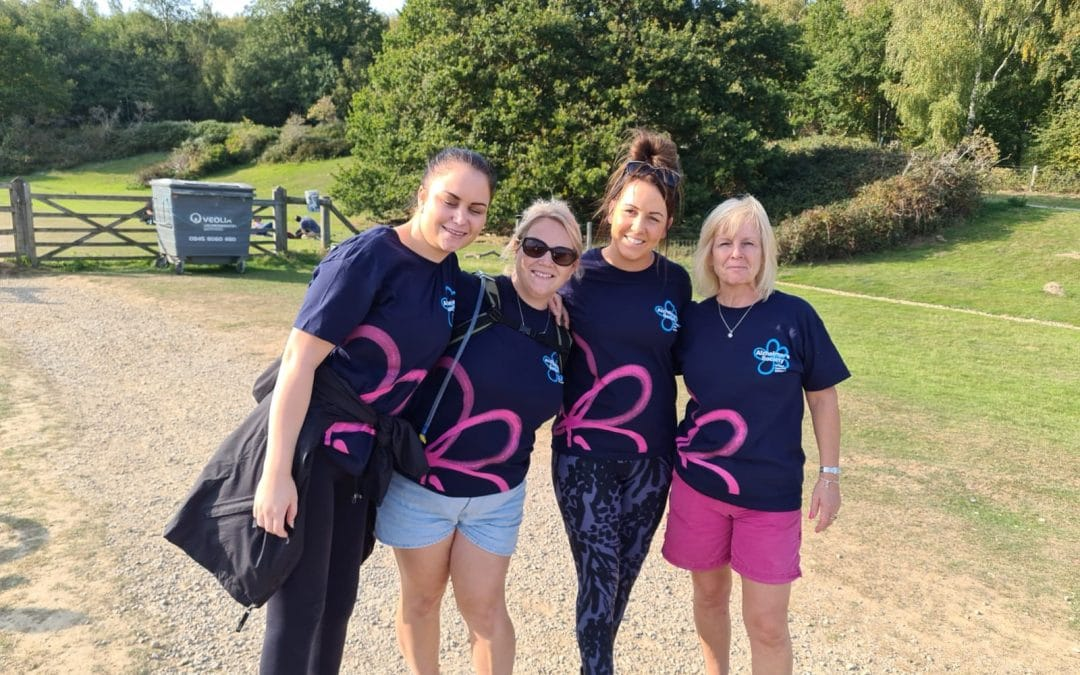 Help beat dementia in Kent and get active with a walking goal