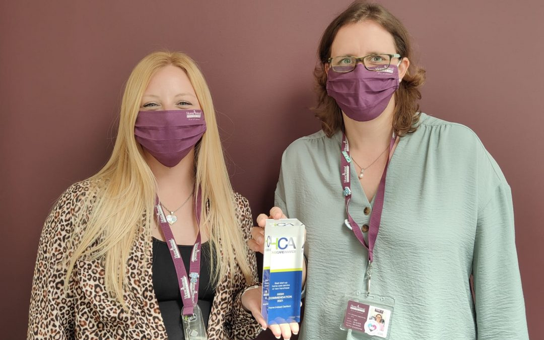 Local care company 'highly commended' in national awards