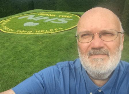 Dartford marks NHS staff's heroic effort during pandemic with new Central Park flower bed
