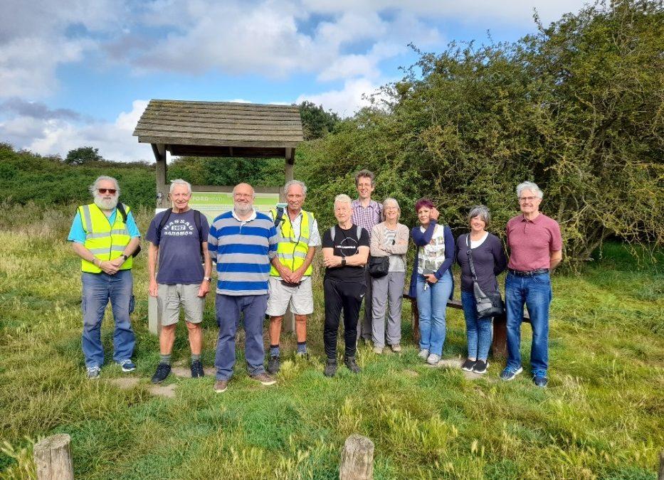 New Health Walk scheme is a success at Dartford Heath